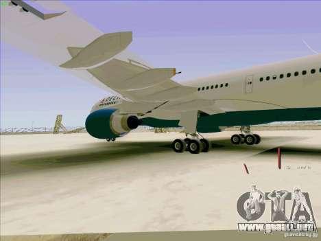 Airbus A330-200 para visión interna GTA San Andreas