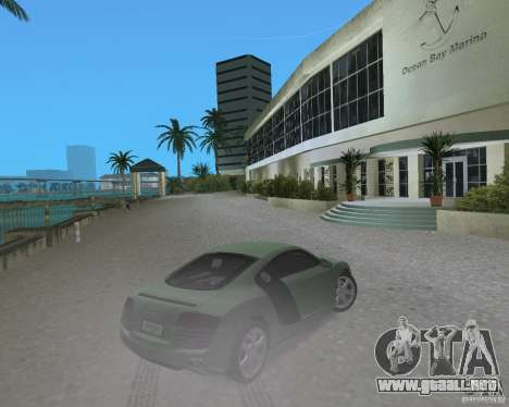Audi R8 4.2 Fsi para GTA Vice City vista lateral izquierdo