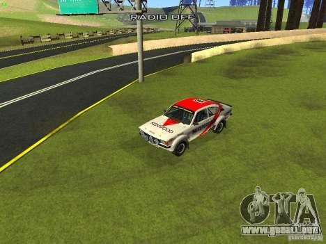 Opel Kadett para las ruedas de GTA San Andreas