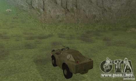 BRDM-1 piel 4 para la visión correcta GTA San Andreas