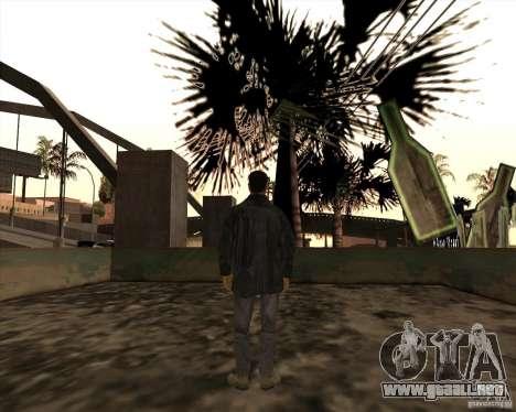 Estrías blancas para GTA San Andreas sucesivamente de pantalla