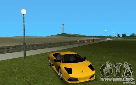 Lamborghini Murcielago LP640 para GTA Vice City left
