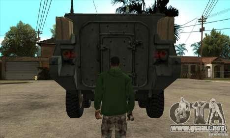 Stryker para visión interna GTA San Andreas