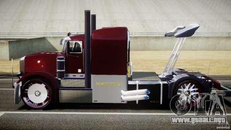 Peterbilt Sport Truck Custom para GTA 4 vista interior