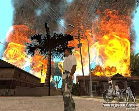 Tornado para GTA San Andreas quinta pantalla