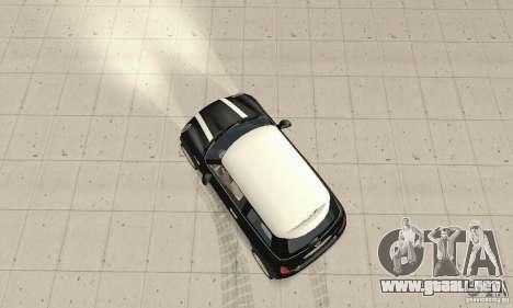 Mini Cooper Hardtop para la visión correcta GTA San Andreas