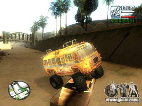 Bullet Storm Bus para GTA San Andreas