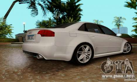 Audi RS4 2007 para visión interna GTA San Andreas