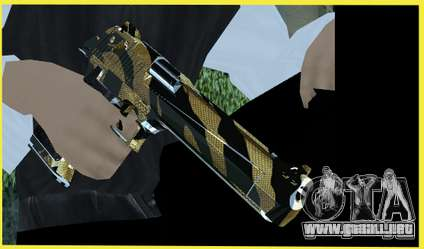 Tiger Weapon Pack para GTA San Andreas segunda pantalla