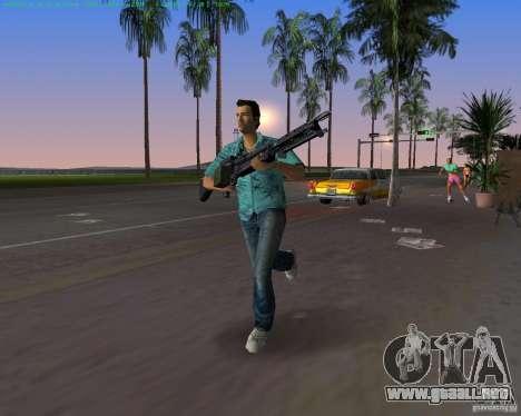 La nueva M-60 para GTA Vice City quinta pantalla