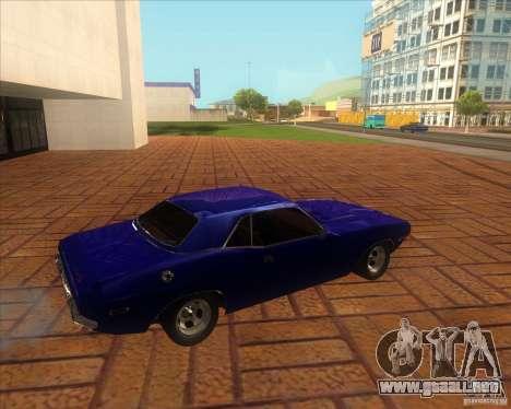 Dodge Challenger RT Hemi para GTA San Andreas left
