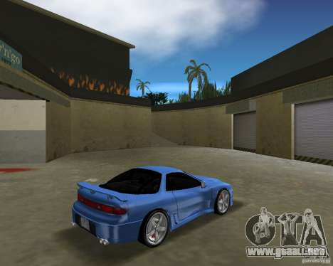 Mitsubishi 3000 GT 1993 para GTA Vice City visión correcta