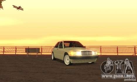 Mercedes-Benz 190E para GTA San Andreas
