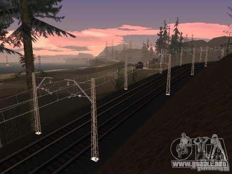 Red de contactos para GTA San Andreas sexta pantalla