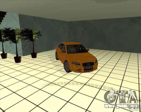 AUDI S4 Sport para vista lateral GTA San Andreas