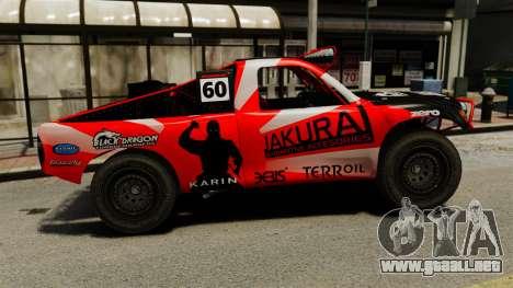 Toyota Tundra Karin Sahara v3.0 para GTA 4 left