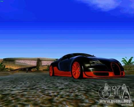 ENBSeries by S.T.A.L.K.E.R para GTA San Andreas sucesivamente de pantalla