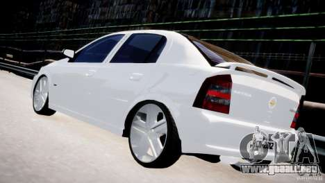 Chevrolet Astra Advantage 2009 para GTA 4 Vista posterior izquierda