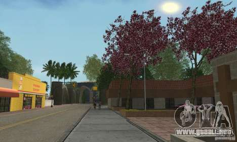 Green Piece v1.0 para GTA San Andreas quinta pantalla