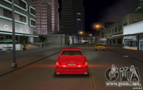 Bentley Arnage T 2005 para GTA Vice City vista posterior
