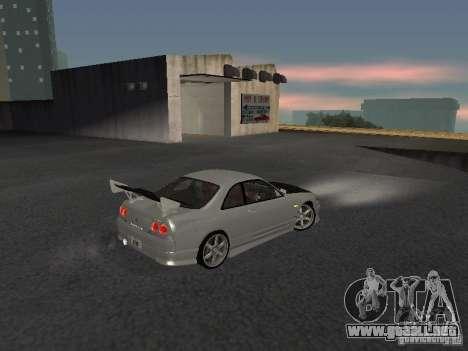 Nissan Skyline R33 SGM para la visión correcta GTA San Andreas