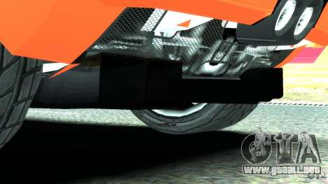 Ford GT 2006 v1.0 para GTA 4 vista desde abajo