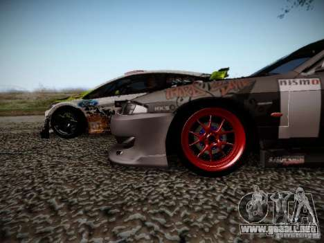 Nissan Silvia S14 Hell para visión interna GTA San Andreas