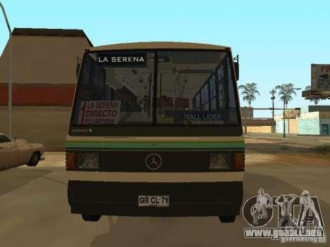 Mercedes-Benz LO-708E para la visión correcta GTA San Andreas