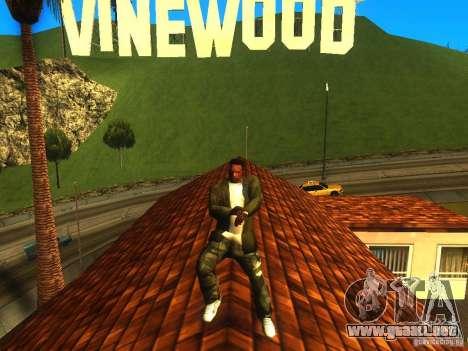 Gangam Style para GTA San Andreas segunda pantalla