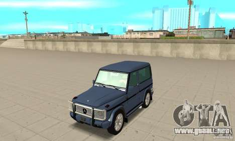Mercedes-Benz G500 1999 Short [with kangoo v1] para GTA San Andreas