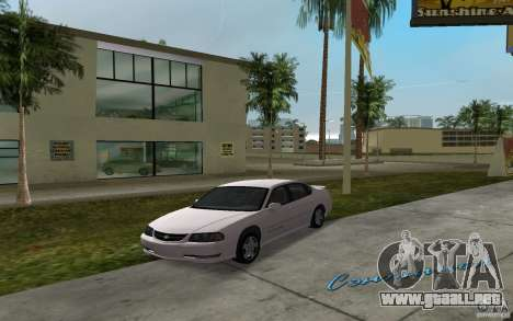 Chevrolet Impala SS 2003 para GTA Vice City vista lateral izquierdo