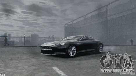 Aston Martin Virage 2012 v1.0 para GTA 4 vista desde abajo
