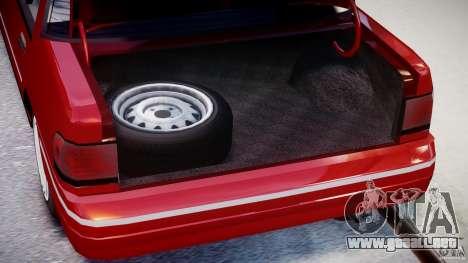 Mercury Tracer 1993 v1.0 para GTA 4 vista hacia atrás