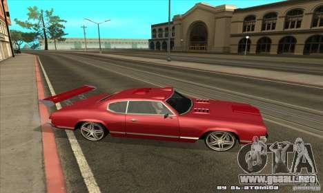 Sabre Drift para la visión correcta GTA San Andreas