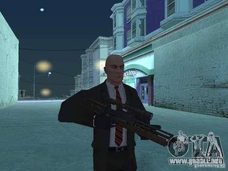 WALTHER 2000 HD para GTA San Andreas tercera pantalla
