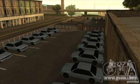 Renovación de autoescuelas en San Fierro para GTA San Andreas segunda pantalla