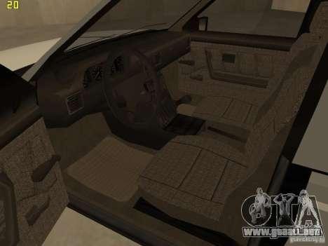 FSO Polonez Caro para visión interna GTA San Andreas