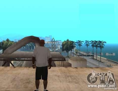 Camiseta WWE RKO para GTA San Andreas segunda pantalla
