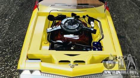 Dodge Monaco 1974 Taxi v1.0 para GTA 4 vista superior