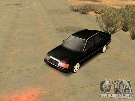 Mercedes-Benz E250 V1.0 para visión interna GTA San Andreas