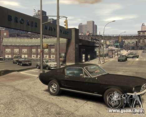 1967 Ford Mustang para GTA 4 visión correcta