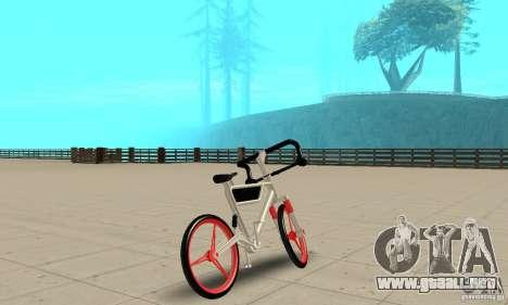 Wind Solar MT Bike para GTA San Andreas left