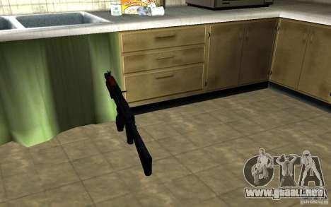 AK-74U para GTA San Andreas tercera pantalla