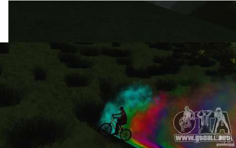 Bike Smoke para GTA San Andreas