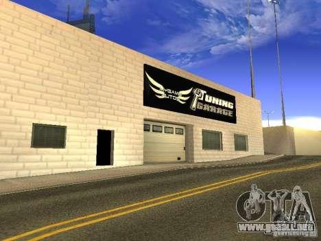 [HD] red de garajes mijuego Autos para GTA San Andreas sexta pantalla