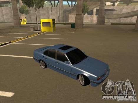 BMW E34 M5 para la visión correcta GTA San Andreas