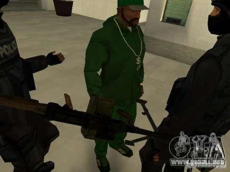 Ayuda Swat para GTA San Andreas séptima pantalla