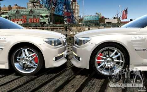 Pantallas de menú y arranque HAMANN BMW en GTA 4 para GTA San Andreas décimo de pantalla