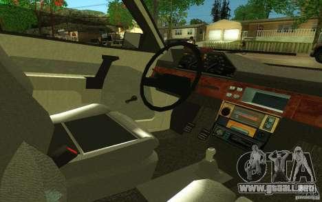 2141 AZLK v2.0 para GTA San Andreas vista hacia atrás