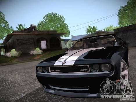 Dodge Challenger SRT8 v1.0 para GTA San Andreas